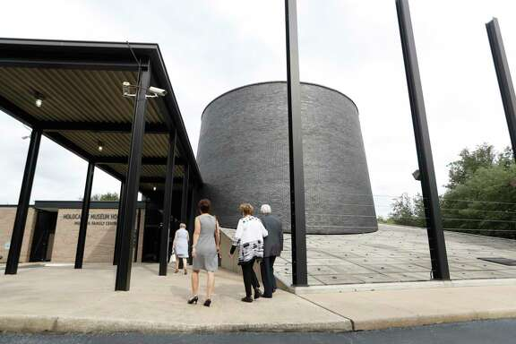 Exterior of the Holocaust Museum Houston, before the start of it's major expansion, Tuesday, June, 20, 2017.  Patrons Lester and Sue Smith also presented the museum with the largest donation in its history, a $15 million matching grant toward the total capital campaign of $49.4 million. ($11.7 million is for an endowment to operate the expanded facilities.)