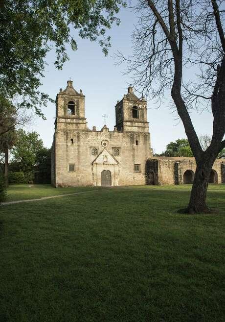 Mission Concepcion was dedicated in 1755. Photo: Billy Calzada /San Antonio Express-News / San Antonio Express-News