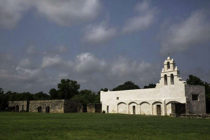 Mission San Juan Capistrano in San Antonio, Texas. Ray Whitehouse / San Antonio Express-News