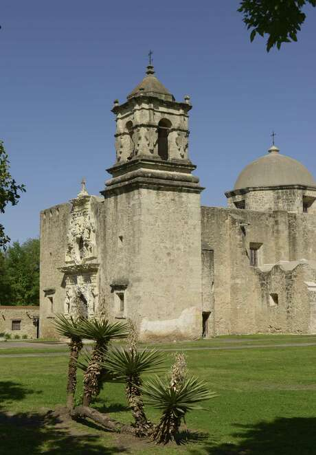 "Mission San Jose, founded in 1720, was completed by 1782. It is known as the ""Queen of the Missions"" in the San Antonio area. March 30, 2017 Photo: Billy Calzada / San Antonio Express-News / San Antonio Express-News"