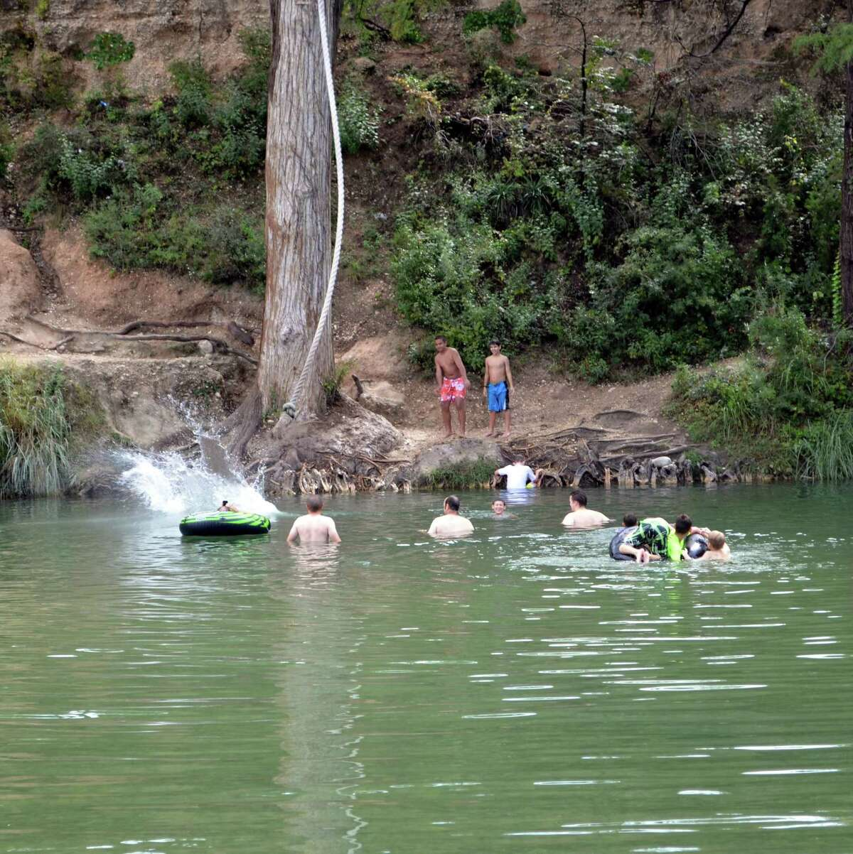 While being able to take a cool plunge into the Frio River is one of the main attractions at Garner State Park, many families are also participating in the Junior Ranger program to educate children about the wonders of the outdoor world.