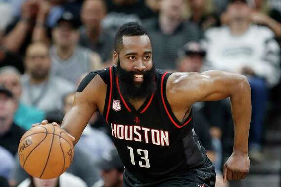 James Harden averaged 29.1 points, 8.1 rebounds and 11.2 assists last season.