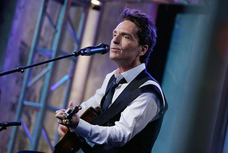 NEW YORK, NY - APRIL 28: Richard Marx performs at AOL Build Speaker Series at AOL Studios In New York on April 28, 2016 in New York City. (Photo by John Lamparski/WireImage)