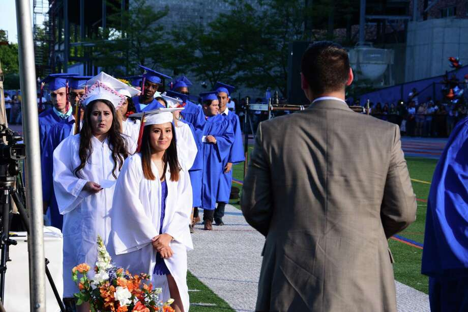 Danbury High School held it's Commencement Exercises on Tuesday June 20, 2017. Photo: Lisa Weir, For Hearst Connecticut Media / The News-Times Freelance
