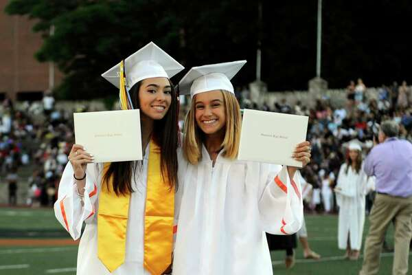 Stamford High School Class of 2017 commencement exercises at M.A. Boyle Stadium in Stamford, Conn., on Tuesday, June 20, 2017.