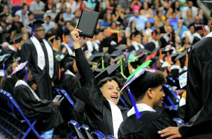 The Interdistrict Science Magnet School held its Second Annual Commencement at the Webster Bank Arena in Bridgeport, Conn., on Tuesday June 20, 2017.