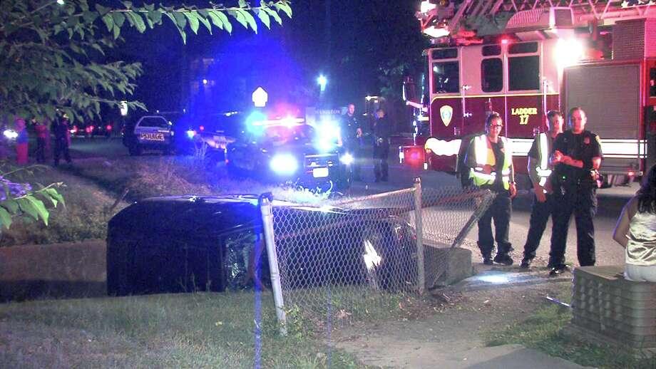 Paramedics responded to the crash around 10:45 p.m. on June 20, 2017, near Jackson Keller Road and Shalimar Drive. Photo: Ken Branca