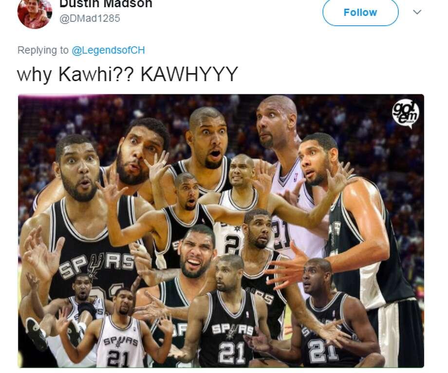 @DMad1285: why Kawhi?? KAWHYYY Photo: Twitter.com