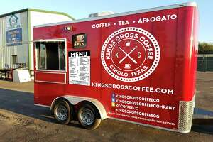 Kings Cross Coffee will debut  6-10:30 a.m. at Cibolo Texas Storage at 806 N. Main St.