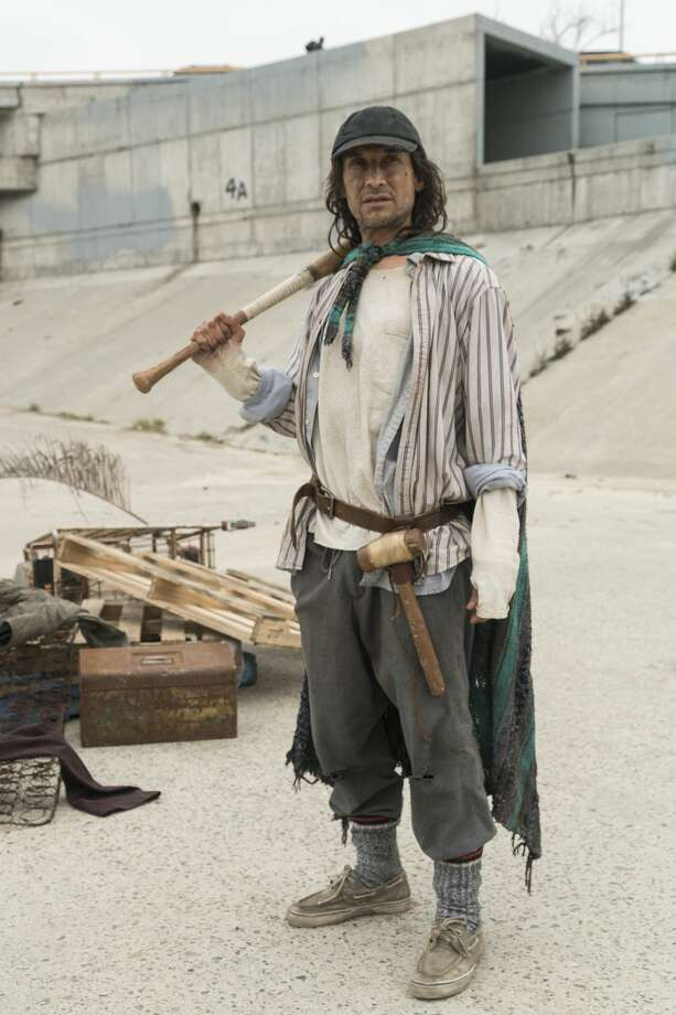 "San Antonio's Jesse Borrego turns in a sensitive, gritty and altogether memorable portrayal as homeless vagabond Efrain Morales in ""Fear the Walking Dead"" on AMC. Photo: Richard Foreman Jr/AMC/Richard Foreman, Jr. SMPSP/AMC"
