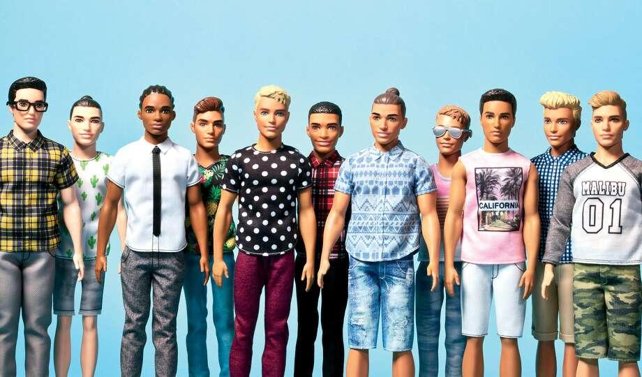Barbie's boyfriend Ken gets diverse makeover
