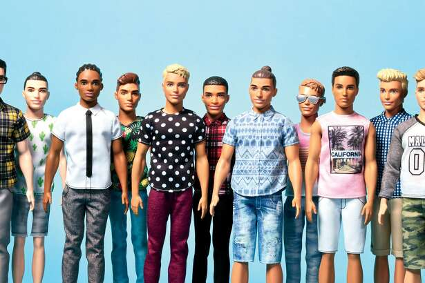 The new Ken doll in a variety of hues and personalities.