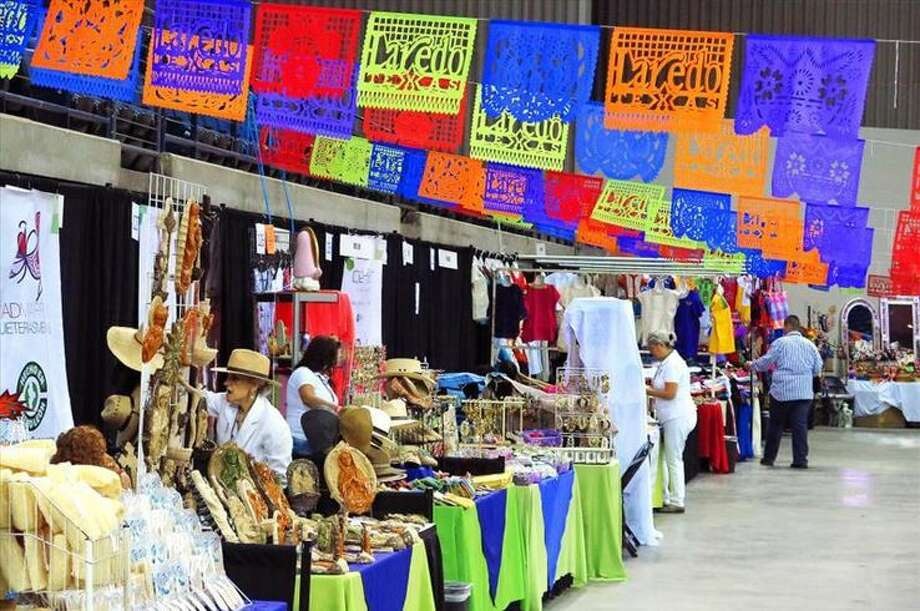 Artisans from throughout Mexico prepare their wares at the Laredo Energy Arena during the 14th Annual Laredo International Sister Cities Festival. The 15th Annual Sister Cities Festival will start Friday, July 7.  Photo: Cuate Santos/Laredo Morning Times