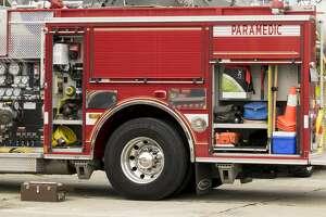 A paramedic vehicle.