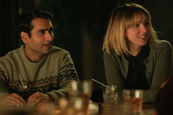 "Kumail Nanjiani and Zoe Kazan in a scene from ""The Big Sick,"" opening at Bay Area theaters on Friday, June 30. Photo by Sarah Shatz. courtesy of Lionsgate."
