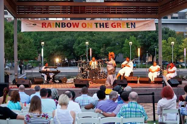 Rainbow on the Green, LGBTQ celebration at Discovery Green