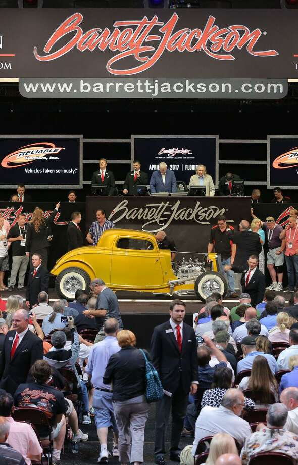 The second annual Barrett-Jackson auto auction comes to the Mohegan Sun June 21-24. The New England Concours d'Elegance auto show runs Saturday and Sunday, June 17-18. Photo: Barrett-Jackson / Contributed Photo / Connecticut Post Contributed
