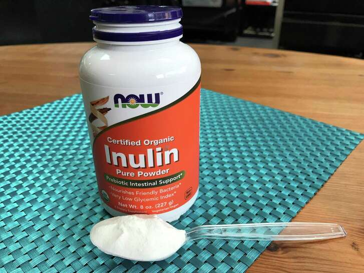While inulin occurs naturally in plants such as chicory, jicama, garlic, onion leeks and asparagus, it's also sold as a nutritional supplement, often as a powder that can be mixed into drinks and sprinkled on food.