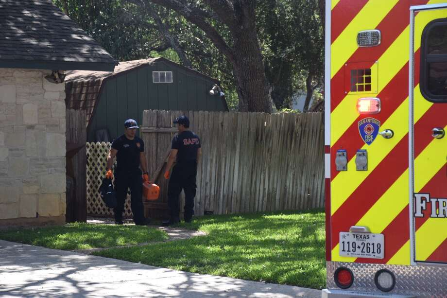 A 68-year-old man drowned while swimming laps in his pool Wednesday, marking the second drowning in two days. Photo: Caleb Downs / San Antonio Express-News