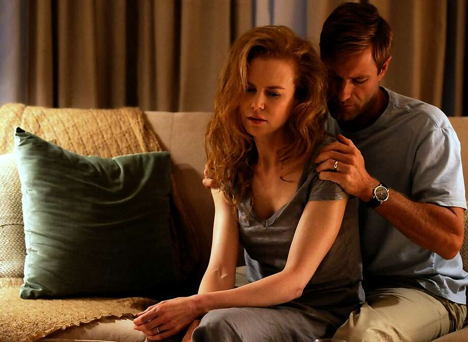"""Nicole Kidman and Aaron Eckhart star as a grieving couple in """"Rabbit Hole."""" Photo: Lionsgate Pictures"""