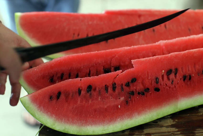 Its famous seed-spitting contest landed Luling's Watermelon Thump a spot on the list of