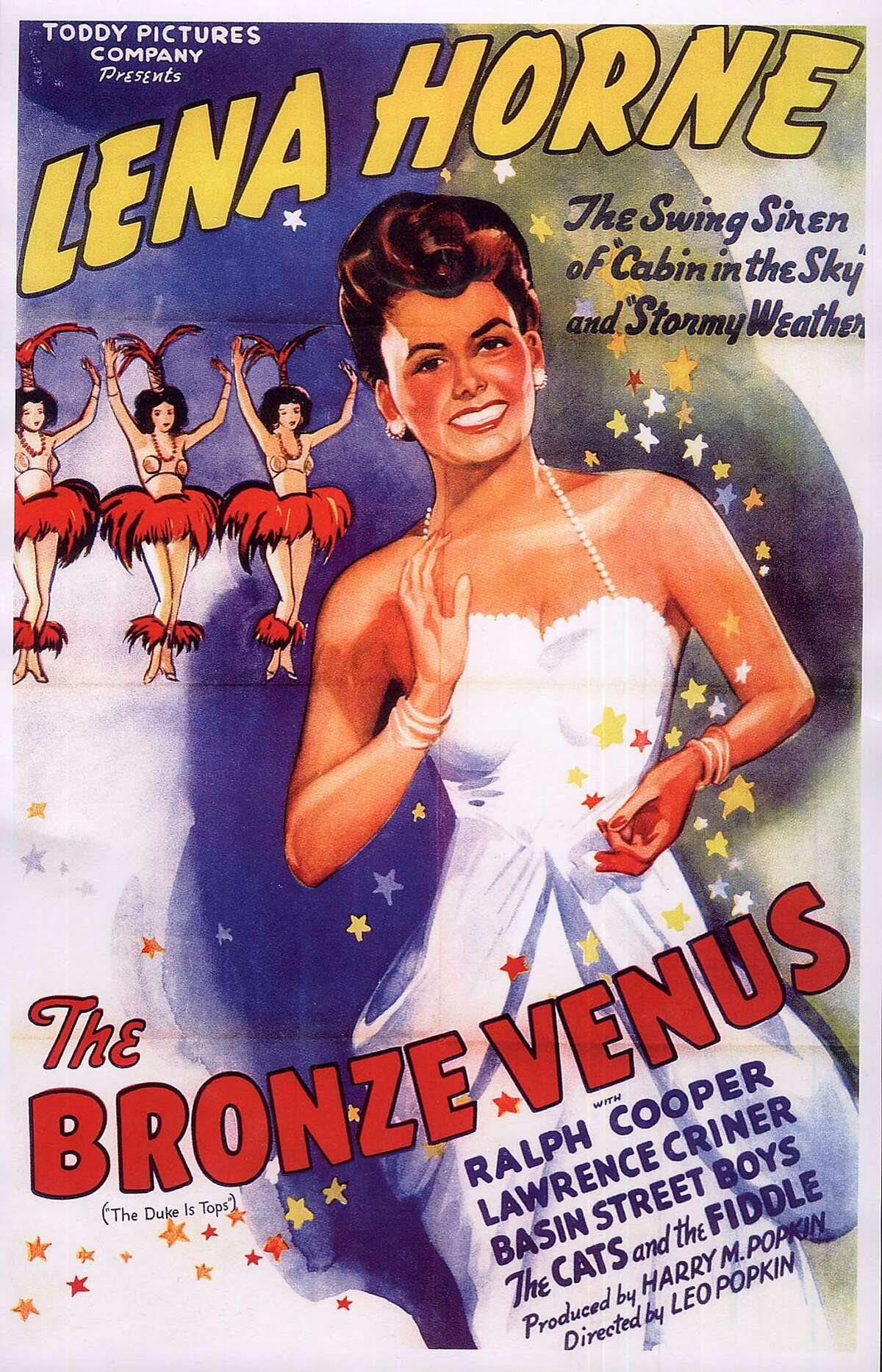 Movie poster for 'The Bronze Venus'