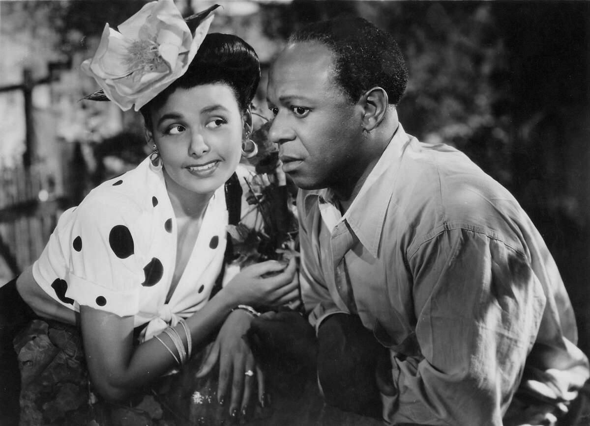 """Lena Horne and Eddie """"Rochester"""" Robinson in """"Cabin in the Sky"""" (1943). Photo credit: Warner Home Video."""