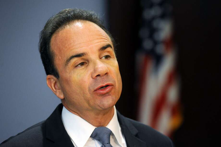 The State Elections Enforcement Commission on Wednesday formally voted to deny convicted felon and Bridgeport Mayor Joe Ganim public funding if he runs for governor. Photo: Ned Gerard / Hearst Connecticut Media / Connecticut Post
