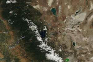 Sierra snowpack on June 6, 2017 at 177 percent of normal for this date.