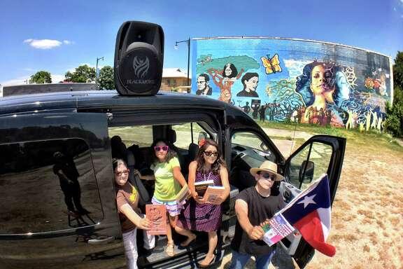Librotraficante trip to Tucson, June 2017