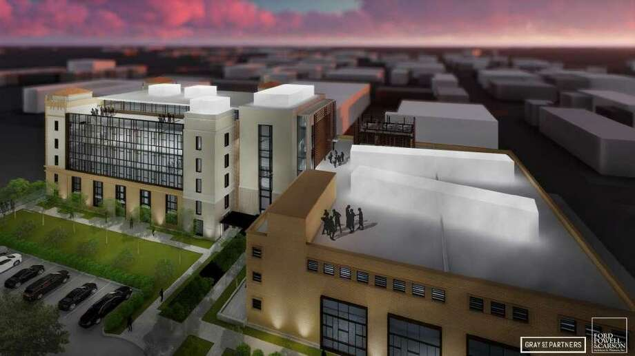 The HDRC also gave a thumbs-up to a proposal by downtown developer GrayStreet Partners to renovate the Depression-era Light building into creative office space. Photo: Historic And Design Review Commission