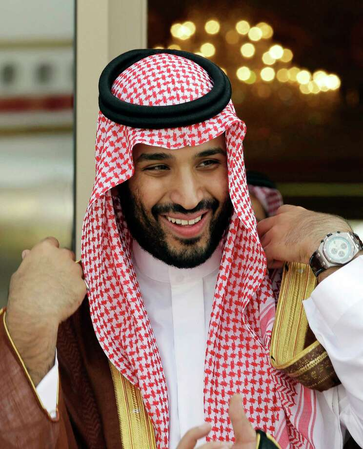 FILE - In this May 14, 2012 file photo, Prince Mohammed bin Salman waits for Gulf Arab leaders ahead of the opening of Gulf Cooperation Council summit, in Riyadh, Saudi Arabia.Saudi Arabia's King Salman has appointed his 31-year-old son Mohammed bin Salman as crown prince, removing the country's counterterrorism czar and a figure well-known to Washington from the royal line of succession. In a series of royal decrees issued Wednesday, June 21, 2017 and carried on the state-run Saudi Press Agency, the monarch stripped Prince Mohammed bin Nayef, who was first in line to the throne, from his title as crown prince and from his post as the country's powerful interior minister overseeing security. (AP Photo/Hassan Ammar, File) Photo: Hassan Ammar, STF / Copyright 2017 The Associated Press. All rights reserved.