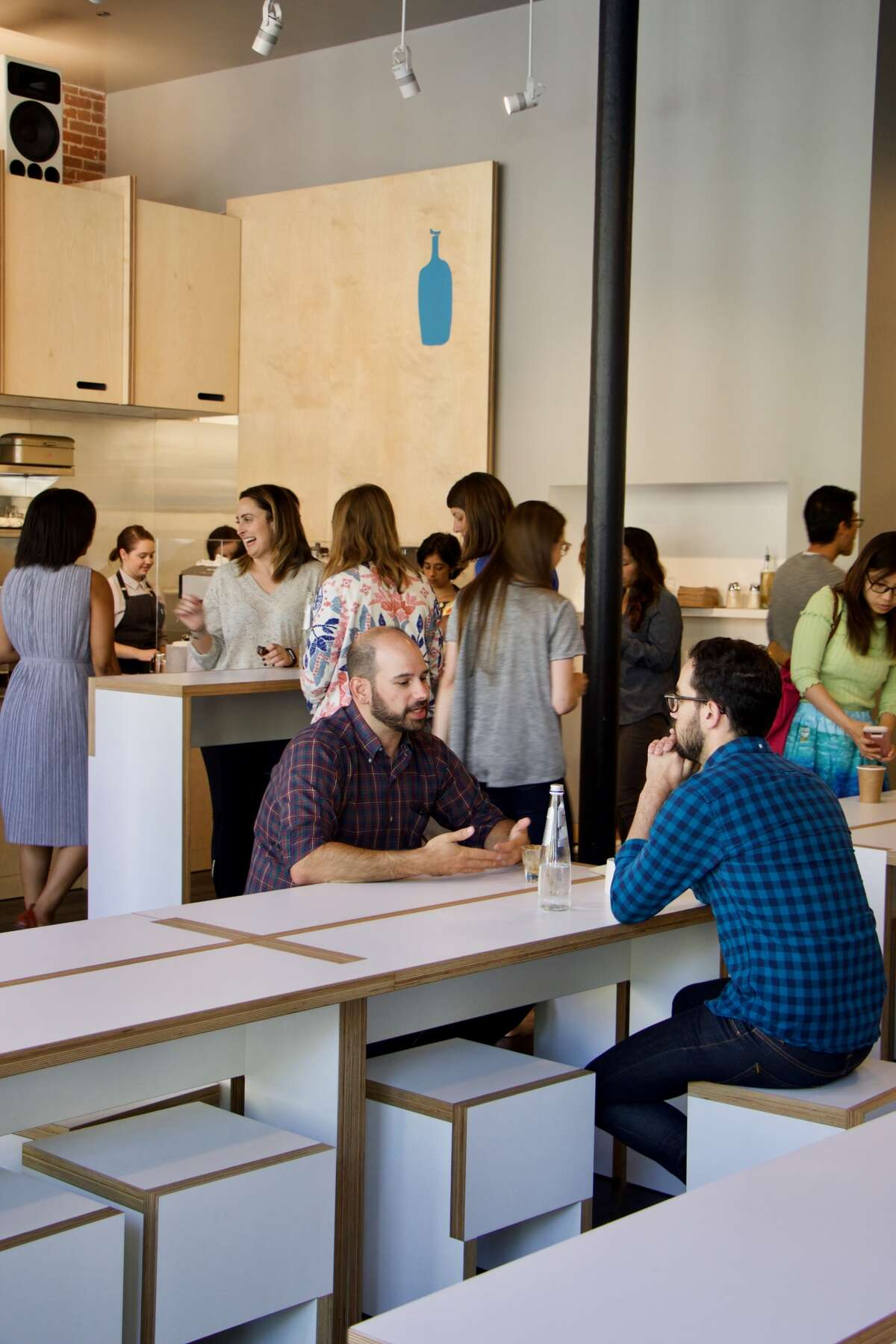 Blue Bottle's new cafe/training facility opens in Old Oakland on June 23 at 480 9th St. Photo via Blue Bottle.