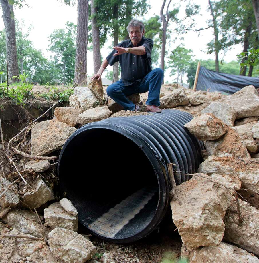 Panorama Village Mayor Lynn Scott Explains How The City Installed A 36 Inch Underground Drainage