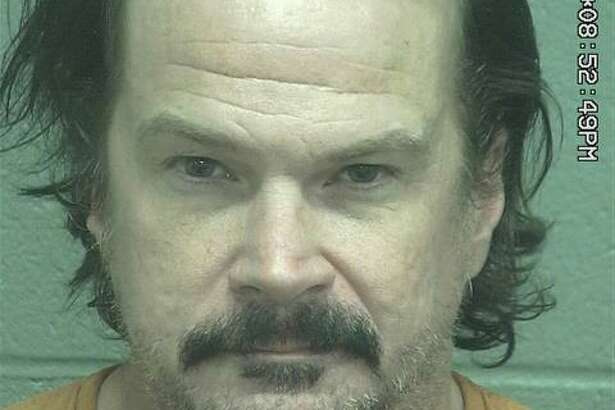 David Alan Arnold, 43, was arrested Sunday after he allegedly pointed a guntowardanother man, according to court documents.
