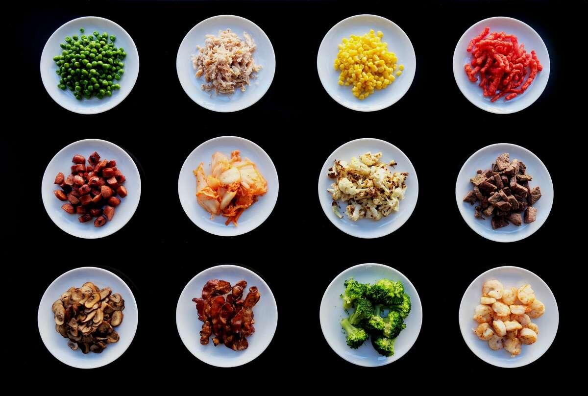 Various Mac'd toppings. Photo via Mac'd