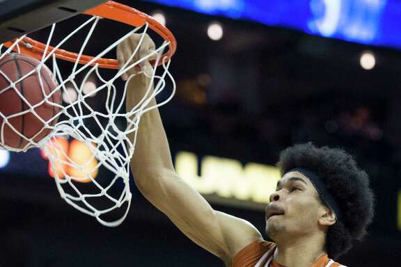 Texas' Jarrett Allen is being likened to Rockets center Clint Capela as a player who will need some time to work on his game and gain strength in order to excel in the NBA.