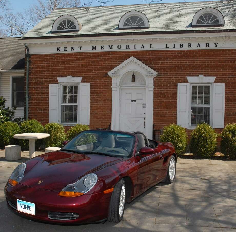 Kent Memorial Library is holding its fundraising raffle project for a pristine 1998 Porsche Boxster. The crimson red convertible has very low mileage, a five-speed manual transmission and a six-cylinder boxer design engine, as well as several factory upgrades. Tickets are $20 and may be purchased at the Main Street Library and at several other locations throughout town. For more information, visit www.kentmemoriallibrary.org. Photo: Courtesy Of Kent Memorial Library / The News-Times Contributed