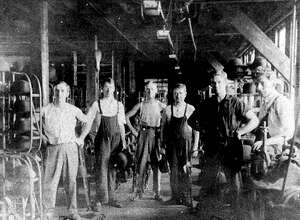 "New Milford has a unique history, like the fact the town had a hat factory shop. Works of the New Milford Hat Shop factory on Housatonic Avenue are shown above circa 1900. If you have a ""Way Back When"" photo to share, contact Deborah Rose at drose@newstimes.com or 860-355-7324."