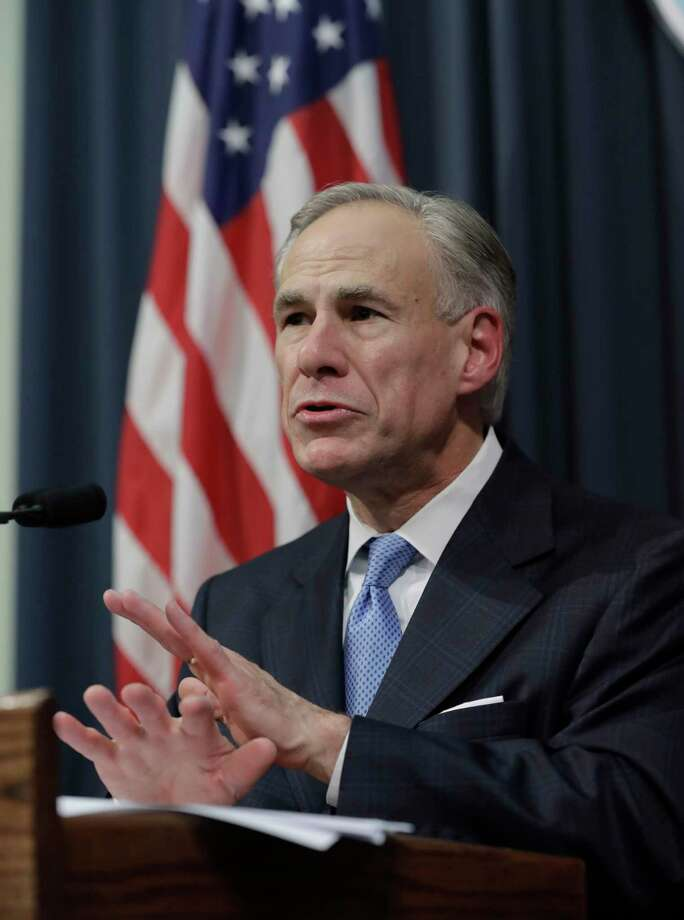 Texas Gov. Greg Abbott. (AP Photo/Eric Gay) Photo: Eric Gay, STF / Copyright 2017 The Associated Press. All rights reserved.