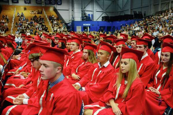Pomperaug High School held it's Graduation Ceremony on Wednesday June 21, 2017 at Western Connecticut State University.
