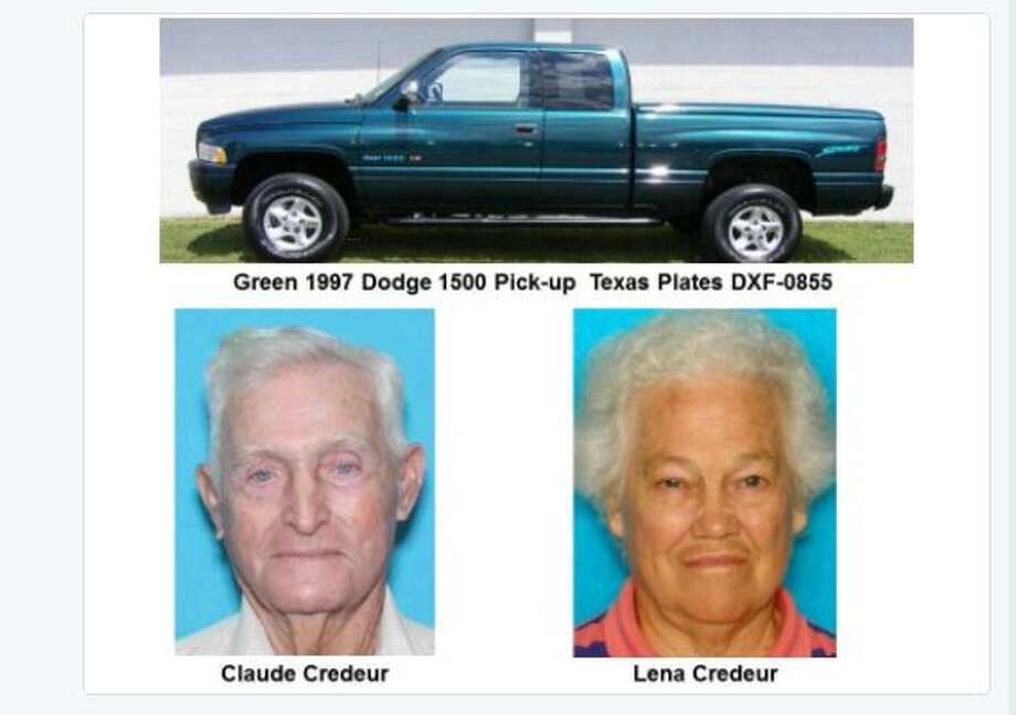 A husband and wife missing since Tuesday from Chambers County were found on the beach on storm-battered Boliver Peninsula. One was found dead in the vehicle and another was taken to a hospital in an undetermined condition. Photo: Texas DPS