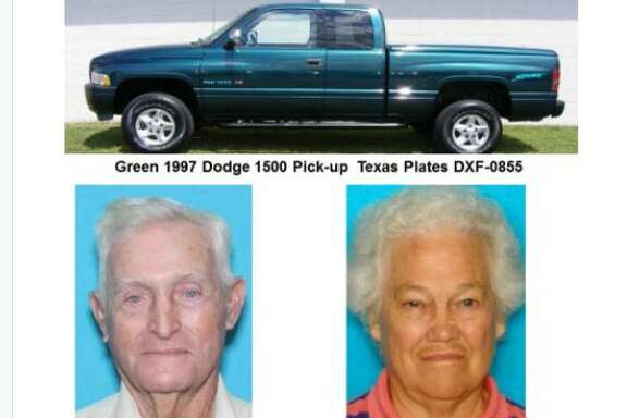 A husband and wife missing since Tuesday from Chambers County were found on the beach inside a vehicle mired in sand on storm-battered Boliver Peninsula. One was found dead in the vehicle and another was taken to a hospital in an undetermined condition.