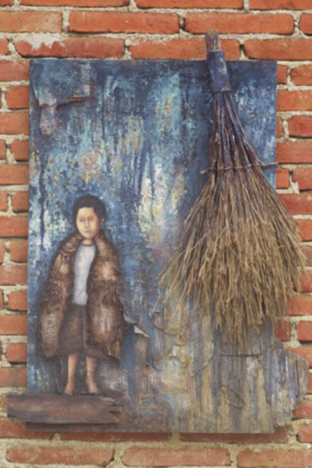 This work by Fernando Peguero is part of the 'Folk Art from Oaxaca, Seven Artists, Seven Voices' exhibit on display through Sept. 30 at  The Marshall M. Fredericks Sculpture Museum.
