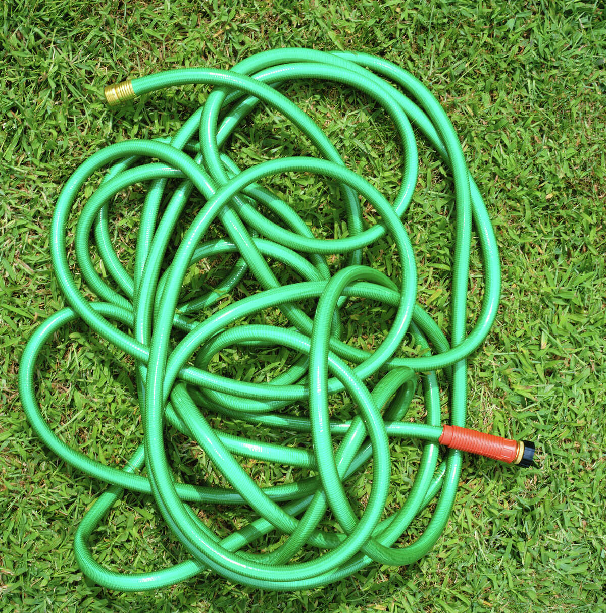 1. Remove all attached exterior hoses, drain and store them.