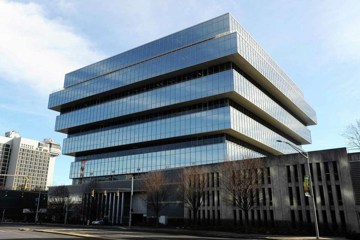 Purdue Pharma is headquarterd at 201 Tresser Blvd., in downtown Stamford.