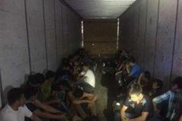 Local and federal officials said they had discovered 44 immigrants locked up inside a trailer on Monday. National Security investigations are investigating the case.