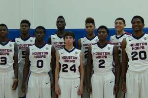The Houston Hoops AAU team featured four future first-round draft picks: De'Aaron Fox (3), Justise Winslow (20), Kelly Oubre (back row, second from right) and Justin Jackson (back row, far right).