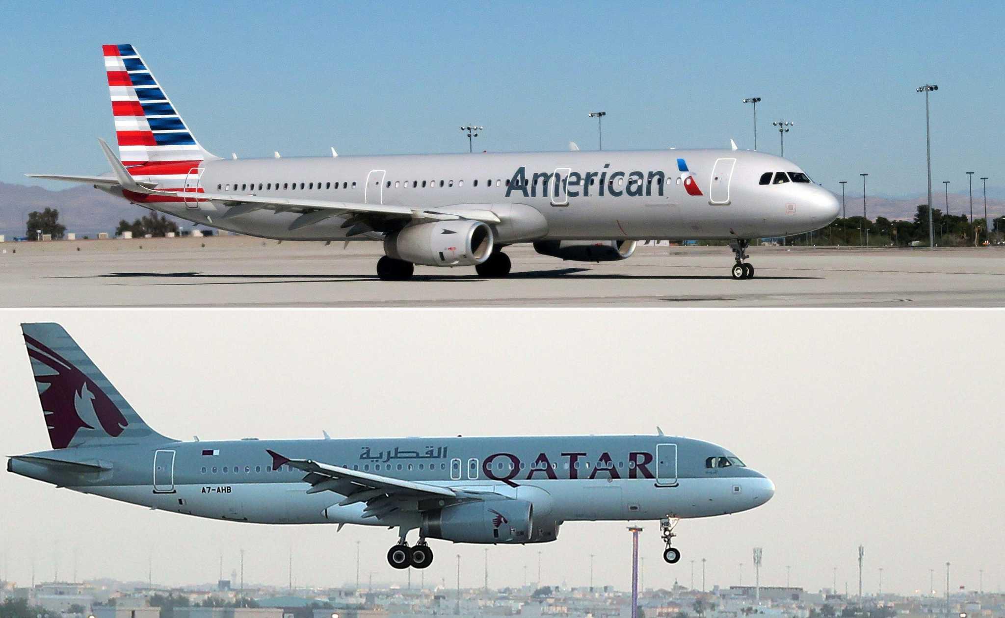 State-owned Qatar Airways seeks 10 percent stake in American ...