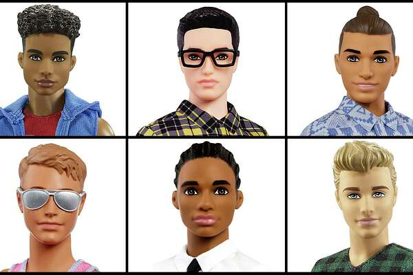5b657682 Ken doll evolves with cornrows, man buns and Dad bod ...